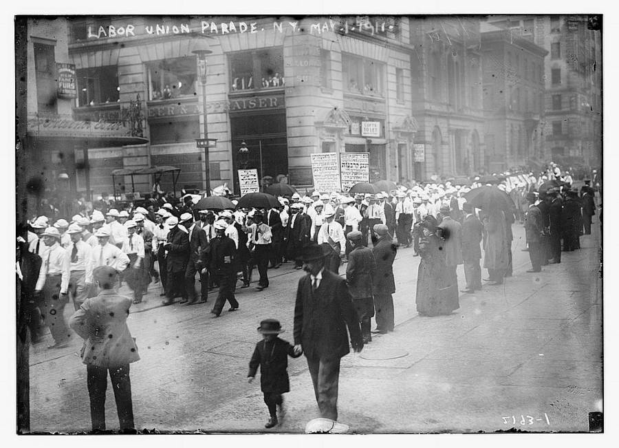 Triangle Shirtwaist Union Parade
