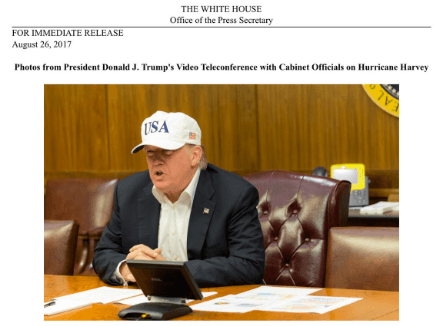 Trump Press Hat