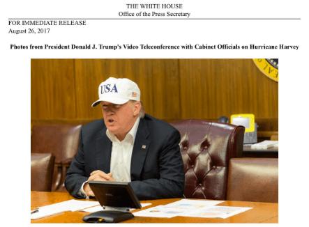 Trump Press Hat