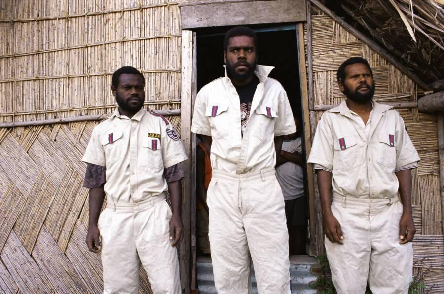 Vanuatu Cargo Cult White