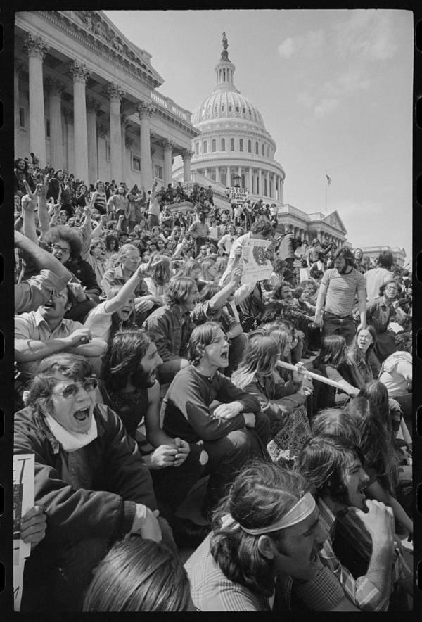 Vietnam Protest At Capitol