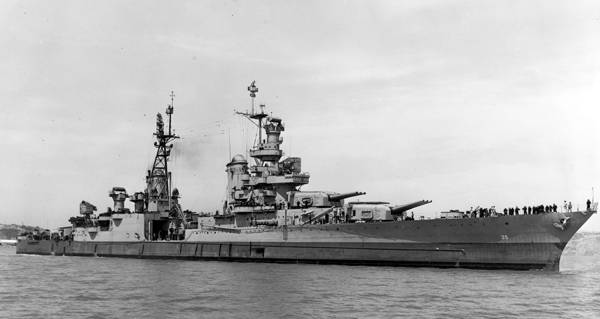 USS Indianapolis Found 72 Years After Sinking In Shark-Infested Waters