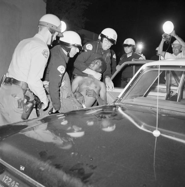 Watts Riot Cops Man