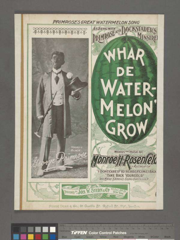 Where Da Watermelon Grow