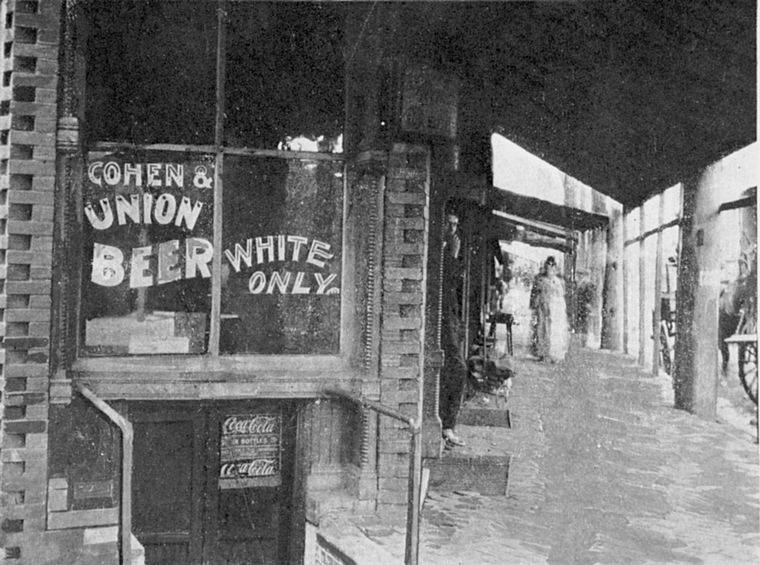Whites Only Saloon Alabama