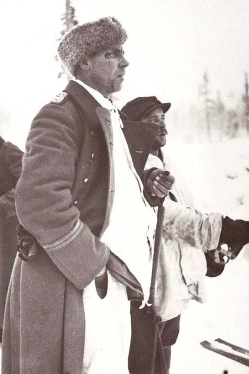 Finnish Captain Aarne Juutilainen