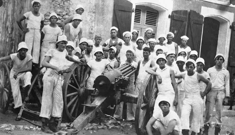 American Sailors in Haiti