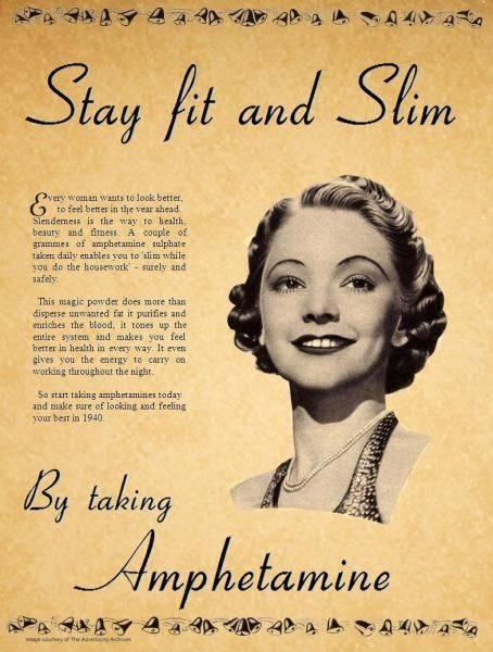 Amphetamine Vintage Ads Health
