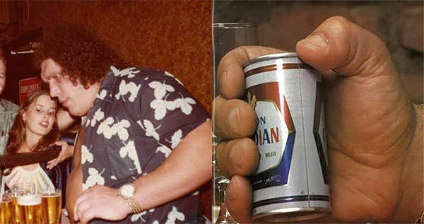 Andre The Giant Drinking Stories That Sound Made Up But Are Actually True