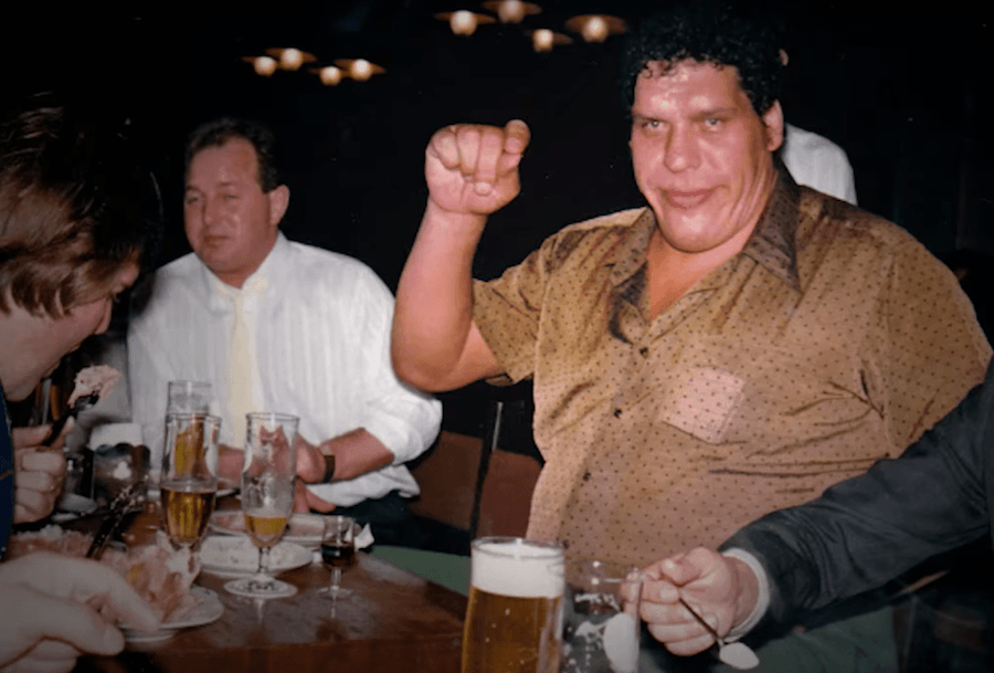 Andre The Giant Drinking Stories