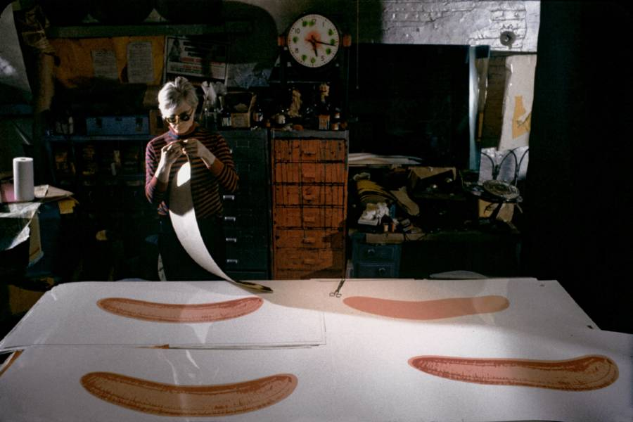 Andy Warhol Bananas