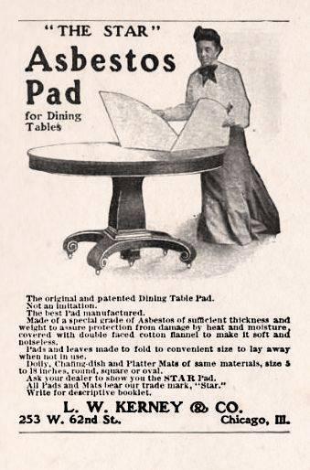 Asbestos Table