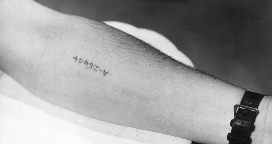 Auschwitz Tattoo Numbers