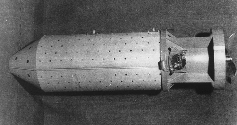 Lightweight bomb that was attached to bats