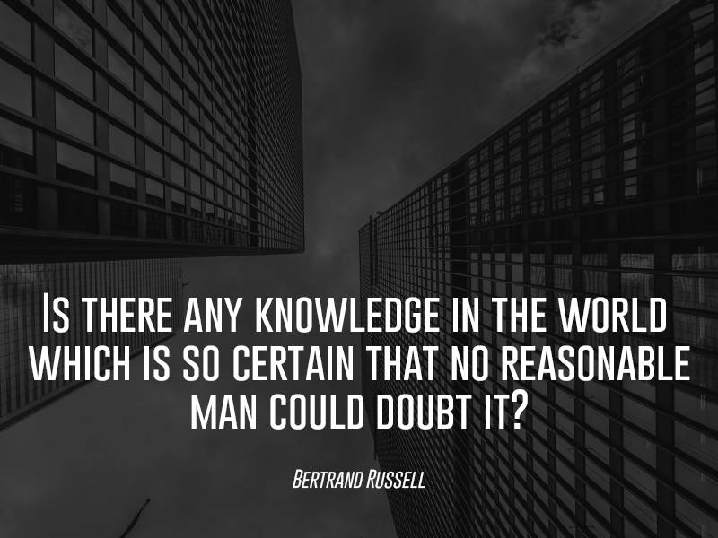 Bertrand Russell On Knowledge