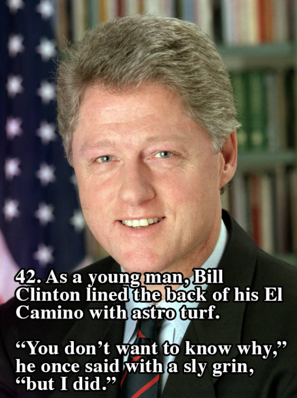 Bill Clinton El Camino