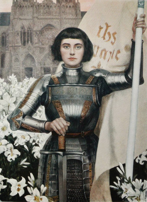 Joan of Arc art
