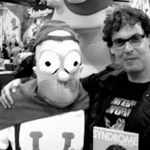 Blake Leibel And Homer Simpson