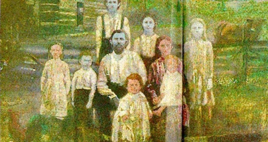 Blue Fugate Family