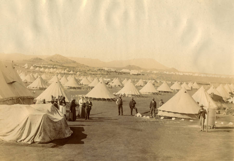 Boer War Tents