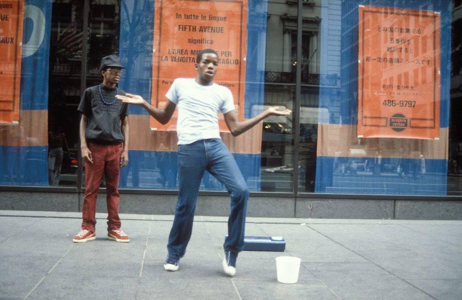 Breakdancers Fifth Avenue Dancing