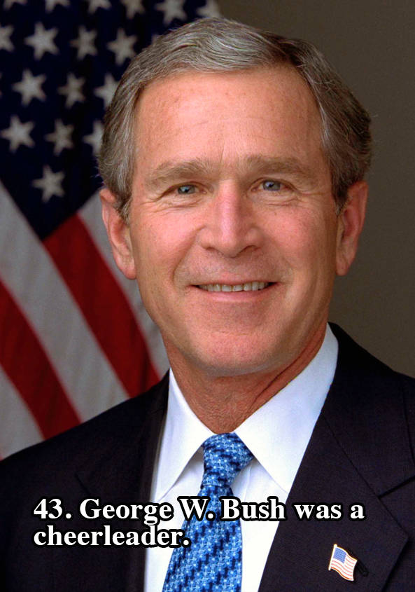 Bush Cheerleader