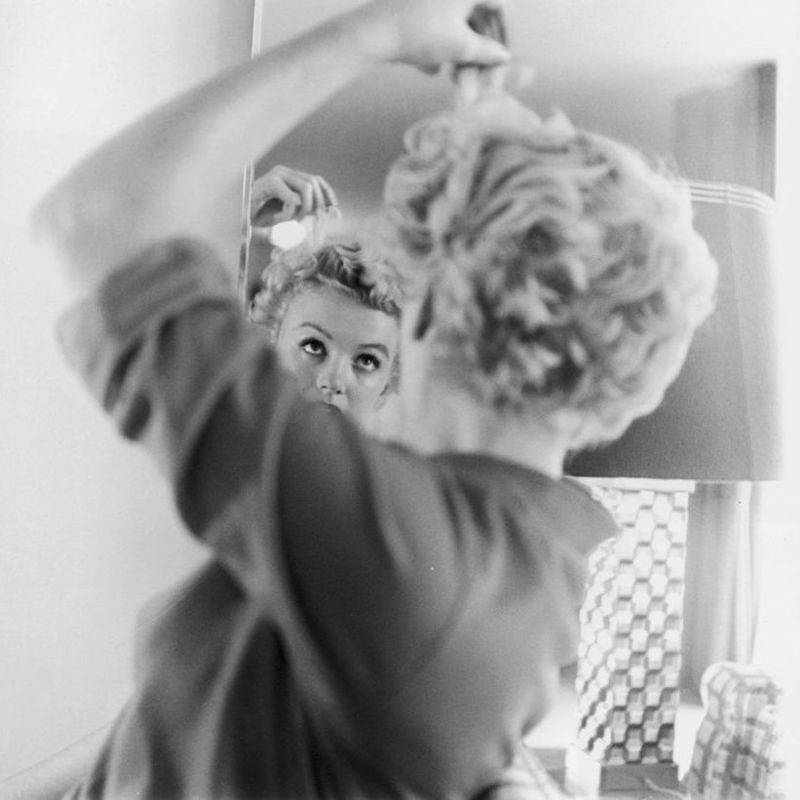 Candid Marilyn Monroe