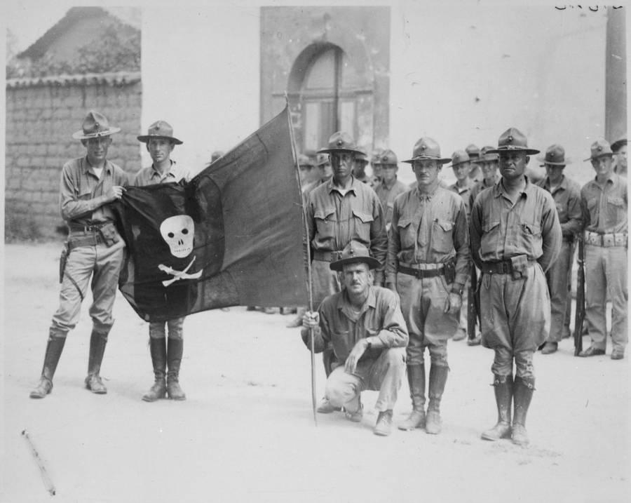 Captured Nicaraguan Rebel Flag