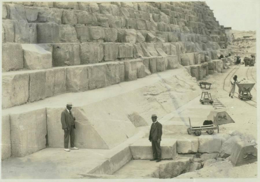 Casing Stone Pyramid