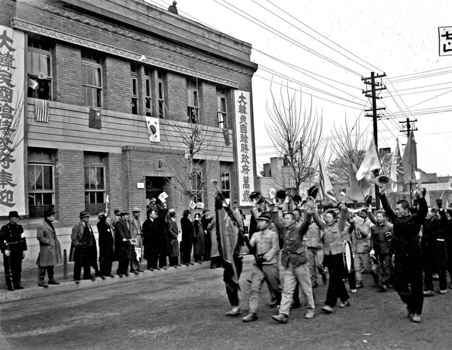 Celebrating Liberation Of Korea