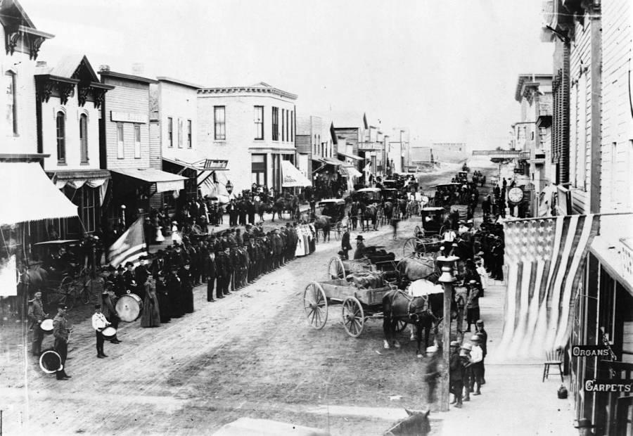 Civil War Veterans Parade