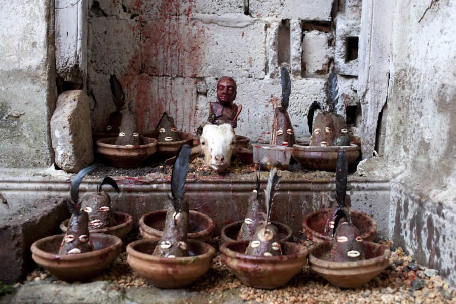 Clay Pots Blood