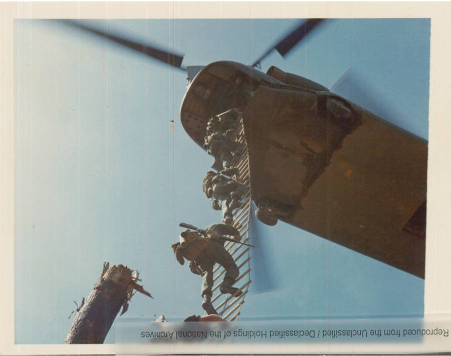 Climbing To Helicopter Vietnam War Photos