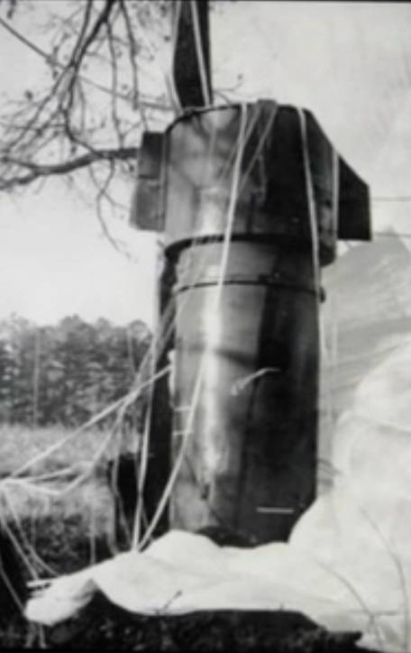 Nuclear bomb that landed on Goldsboro