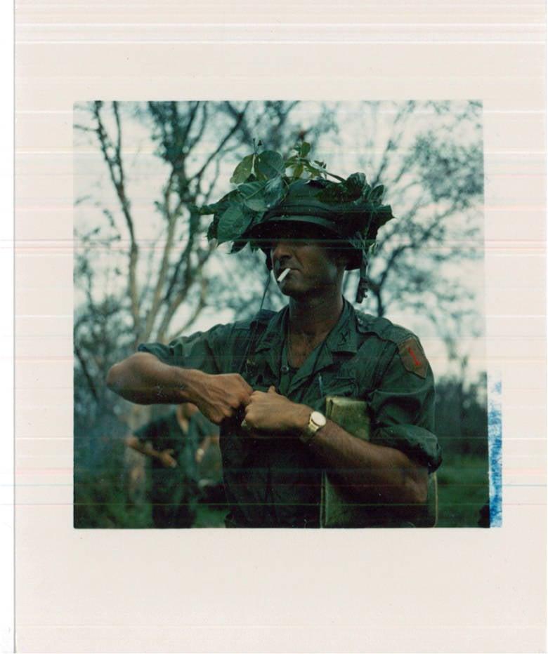 Commander With Cigarette