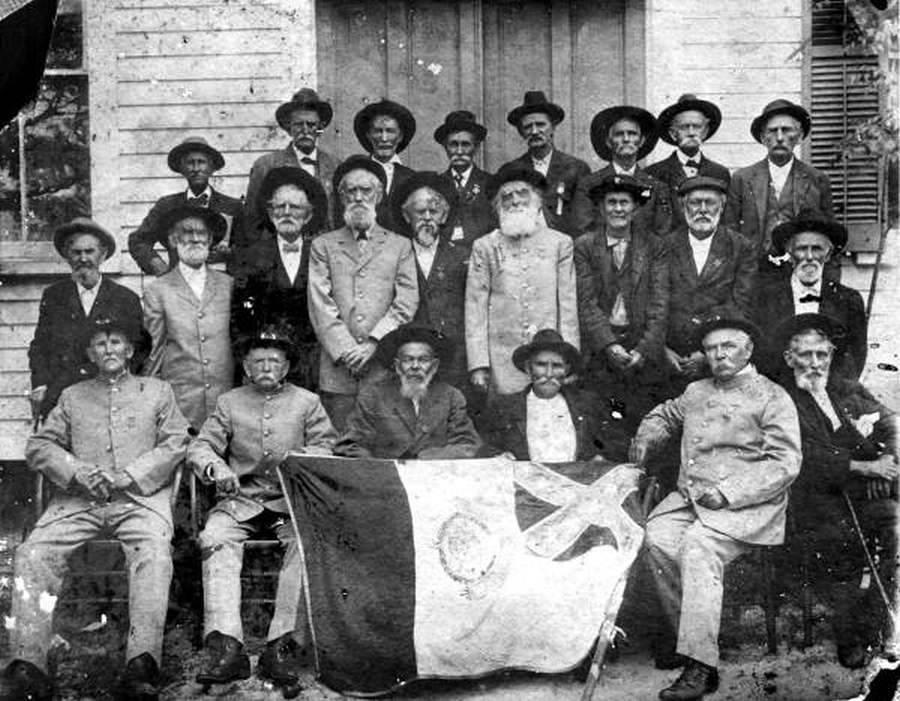 Confederate Veterans Crawfordville Florida