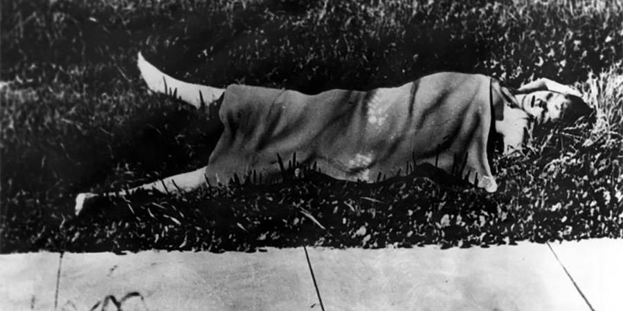 Black Dahlia crime scene