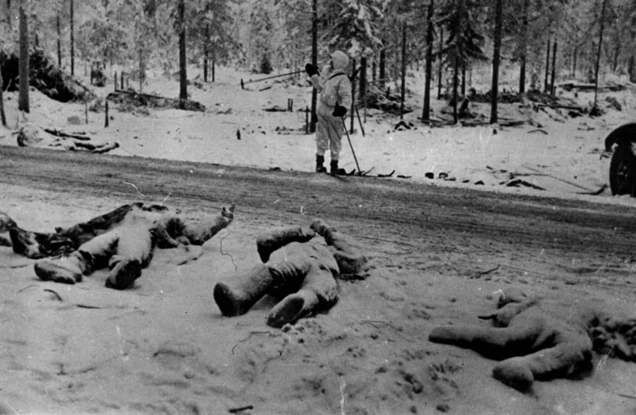 Dead Bodies of Winter War