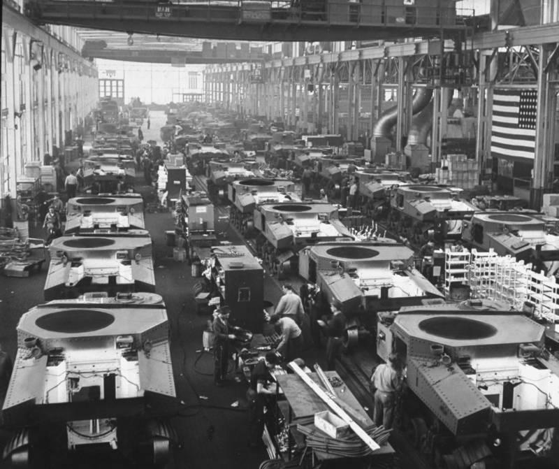 Detroit Tanks Industry Ww2