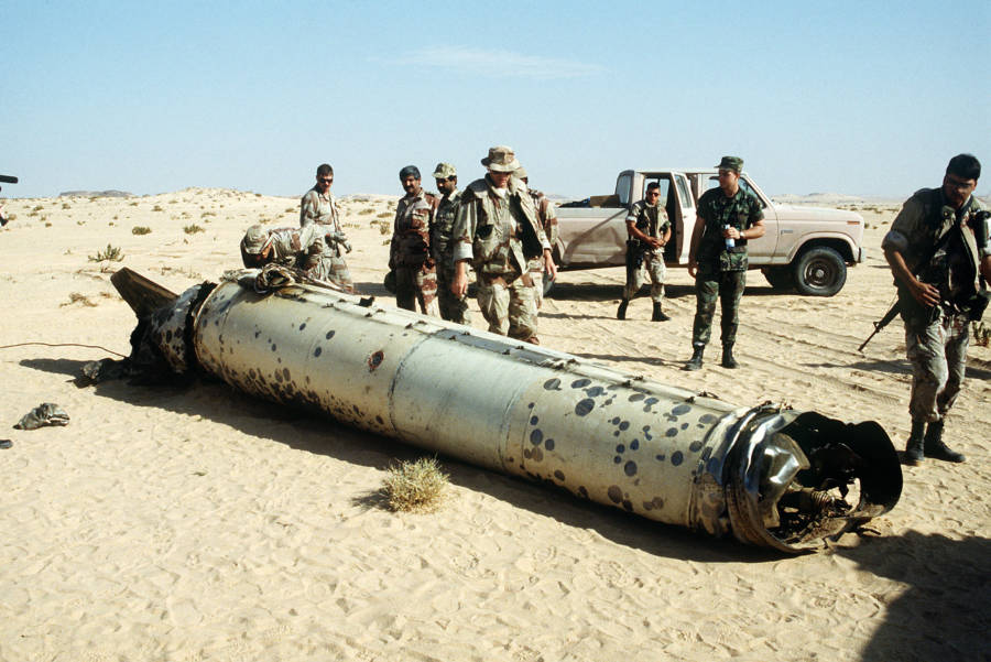 Downed Scud