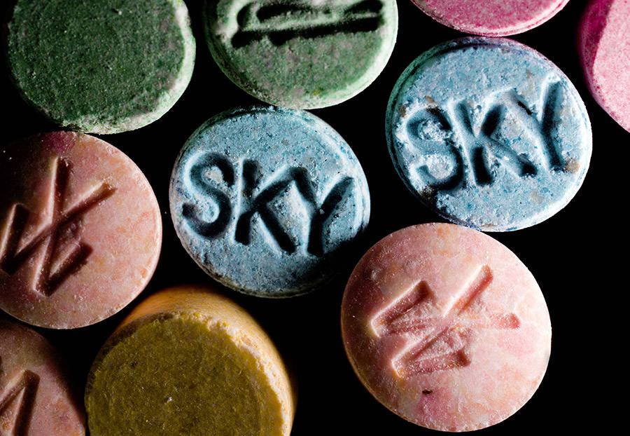 Ecstasy Pills Mdma