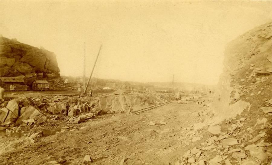 Eighth Ave 1869 New York City
