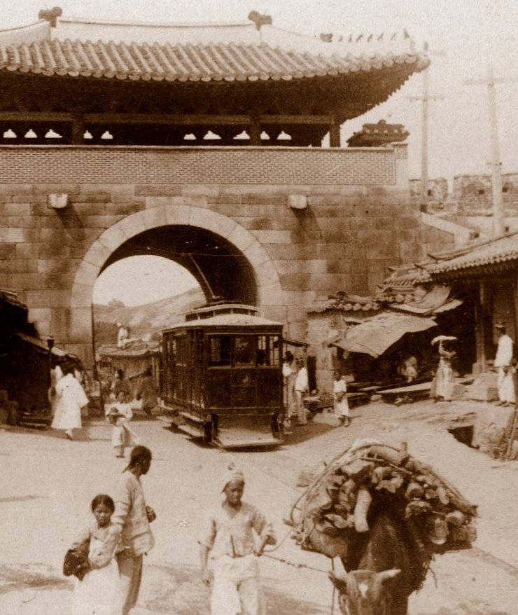 Electric Trolley Korea 1903