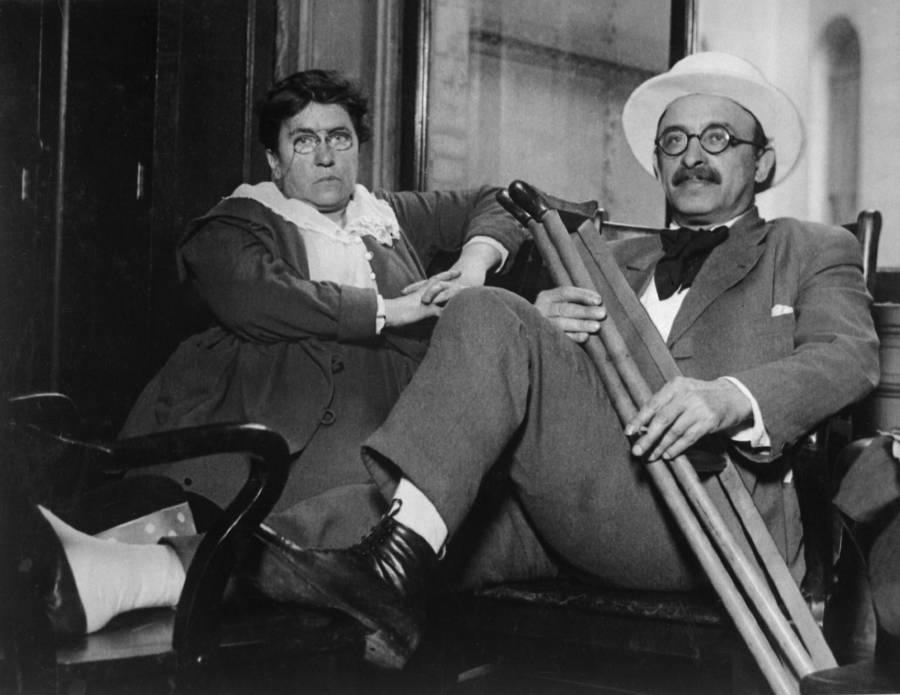 Emma Goldman Alexander Berkman