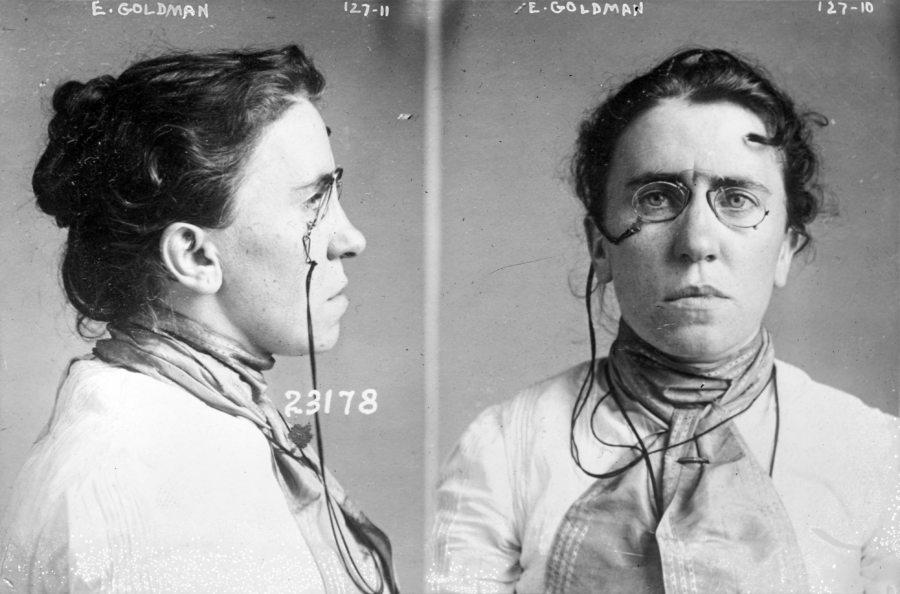 Emma Goldman Anarchy In America