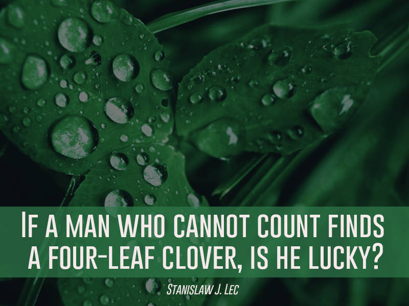 Finding A Four Leaf Clover