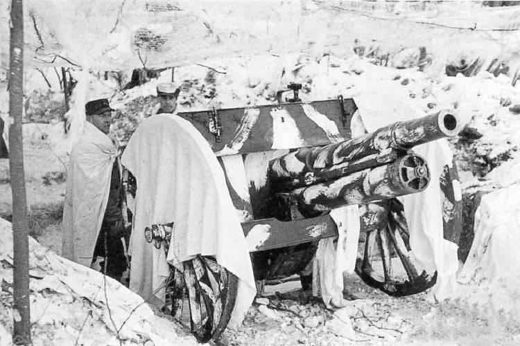Finnish Artillery Gun