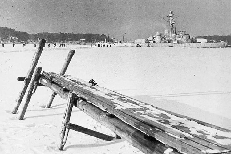 Finnish Defense Ship Snow