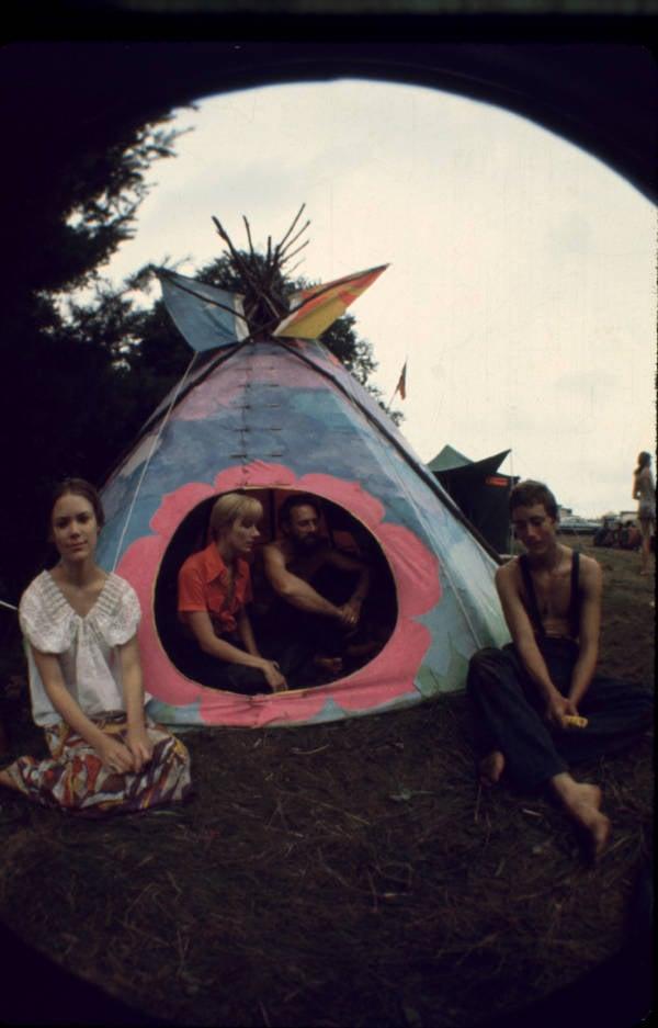 Flower Children Tent
