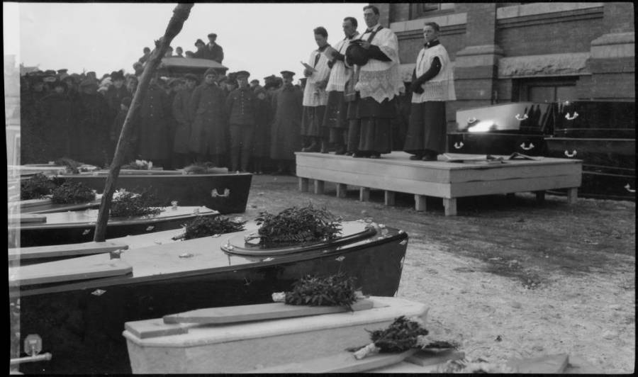 Funeral Services For The Halifax Explosion